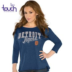 Detroit Tigers Touch by Alyssa Milano Wildcard Long Sleeve T-Shirt - MLB.com Shop