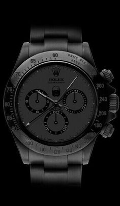 all in black. Exquisite!