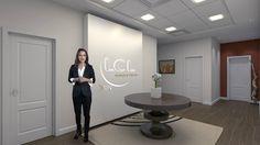 Espace d'accueil réalisé dans le cadre de la Visite virtuelle du pôle LCL Banque Privée