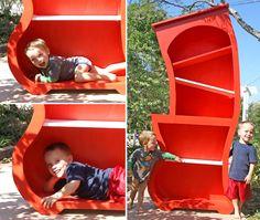 DIY Dr. Suess book shelves