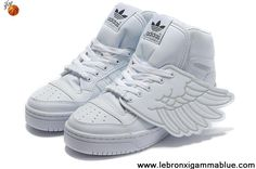 Buy Latest Listing Adidas X Jeremy Scott Wings Shoes All White