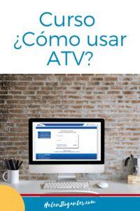 Cómo usar ATV -Curso básico virtual Atv, Electronics, Blog, Best Practice, Audio System, Haciendas, Mtb Bike, Blogging, Atvs