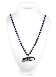 Caseys Seattle Seahawks Mardi Gras Beads with Medallion Celebrate your favorite team with this classic Mardi Gras style beaded necklace! It features beads in two team colors and a heavy duty team logo shaped medallion. The med (Barcode EAN = 0094746544034) http://www.comparestoreprices.co.uk/december-2016-4/caseys-seattle-seahawks-mardi-gras-beads-with-medallion.asp