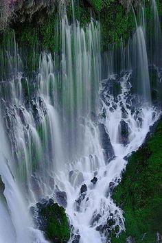 Burney Falls Northern California.