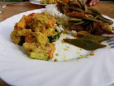 Nepalesischer Sesam-Kartoffel-Salat  #glutenfrei #glutenfree #kartoffelsalat #nepal #mitliebeohnegluten