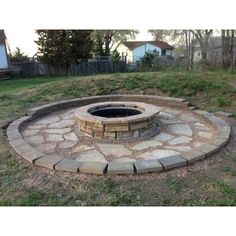 Sun Joe Cast Stone Wood Burning Fire Pit & Reviews | Wayfair