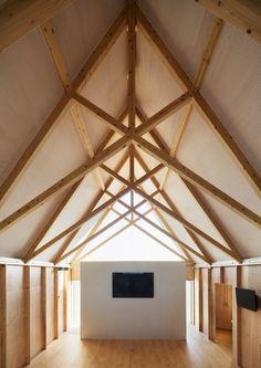 ryuji fujimura architects facility for ecology education tokyo japan designboom