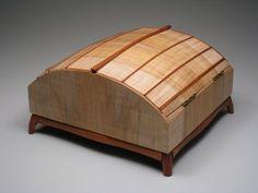 Martin Shelton - Chiton Box | Northwest Woodworkers' Gallery