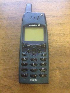Ericsson R320s - (Unlocked) Cellular Phone *VINTAGE* *COLLECTIBLE* #Ericsson #Slider
