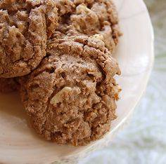 The Nesting Project: Nutella Oatmeal Cookies