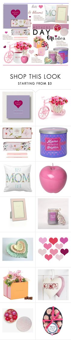 """""""Mother's Day Gift Guide.."""" by vkevans ❤ liked on Polyvore featuring Wild & Wolf, Yankee Candle, Bitossi, Addison Ross, Forrey & Galland, Rococo Chocolates, mothersdaygiftguide and vkevans"""
