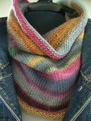 Ravelry: Warm Neck & hands pattern by Andra Asars--make using Tunisian crochet
