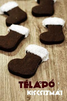Szofika a konyhában...: Télapó csizma Xmas Food, Christmas Sweets, Christmas Cookies, Winter Food, Cake Recipes, Breakfast Recipes, Clean Eating, Food And Drink, Macarons