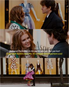 The bidder on the phone was you ~ Confessions of a Shopaholic (2009) ~ Movie Quotes