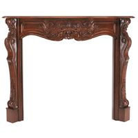 Transform any fireplace into a statement piece with the ornately carved Pearl Mantels' Deauville Fireplace Hearth Mantel. www.elitedeals.com $760.75