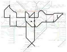 If You Look Hard Enough, You'll Find Secret Animals On London's Subway Maps