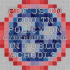 pdf.js   tn.gov TN policy on cyberbullying in public schools