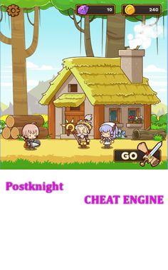 Cheat Engine Postknight - punti statistiche e denaro - NOX