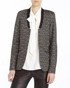 1cdd913072 Maison Scotch Womens Jacket Size Petite XS Blazer Wool Blend #MaisonScotch # Blazer Scottish Women