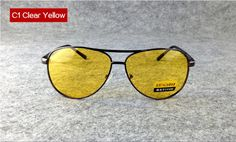 6b2db10233 UVLAIK TAC HD Polarized Sunglasses Men Women Night Vision Driving Glasses   fashion  clothing