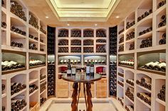 A great wine cellar is all about creating a controlled environment. These wine cellar design ideas and guidelines should provide some inspiration. Wine Barrels For Sale, Wine Sale, Cave A Vin Design, Architecture Design, Home Wine Cellars, Home Remodeling Contractors, Wine Cellar Design, Wine Tasting Room, Wine Fridge