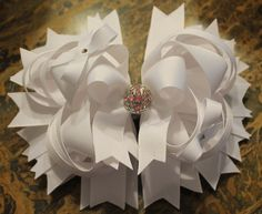 White Bow.  Would be so pretty for a First Holy Communion!
