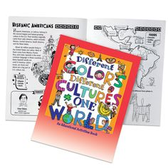 Different Colors Different Cultures One World Educational Activities Book | Positive Promotions