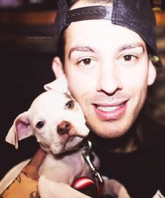 Mike Fuentes + puppy
