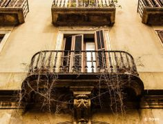 © Blende, Deniz Günal, Balkon in Barcelona | Das Bild wurde in der Innenstadt in den Gassen Barcelonas aufgenommen.