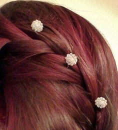 Items similar to Set of 6 Decorative Hair Pins on Etsy 5344a44a10a6