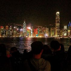 Light show on the buildings in #HongKong amazing  #geekhumor #nerdhumor #geek #truestory #funny #inspiration #motivation #talented
