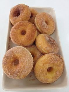 How to Make Cinnamon Sugar Doughnut Recipe
