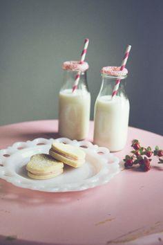 Retro School Love Valentine's Shoot Milk Cookies Wedding with Dream Cakes Portland http://www.dreamcakesportland.com