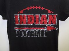 Indian tee Indian mom tee Indian football tee custom by BlingByMKD, $27.00