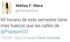 Popayán y sus míticos huecos vía @melisafmera