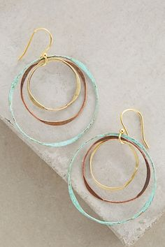 Matryoshka Hoops #anthropologie