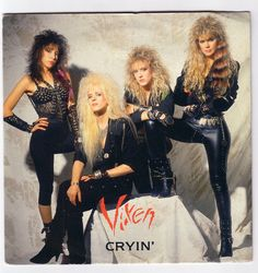 80s Heavy Metal Chick | Official Vixen Home Page of 80's band Heavy Metal Rock & Roll chicks ...