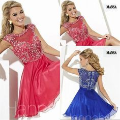High Quality Halter Homecoming Dres