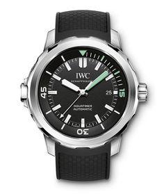 Montre sport IWC Aquatimer Automatic http://www.vogue.fr/joaillerie/shopping/diaporama/montres-de-sport-running-caoutchouc/18558/image/996972#!montre-sport-iwc-aquatimer-automatic
