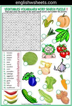 Vegetables Esl Printable Word Search Puzzle Worksheets For Kids (2 sets) #vegetables #vegetablesesl #vegetablesvocabulary #vegetablespuzzle #vegetableswordsearch #eslwordsearch #languagearts #eslforkids #eslworksheets #eslpuzzles #esl #printable #wordsearch #puzzle #Worksheet #kids #forkids #englishwsheets #learnenglish #teachenglish #classroom #efl #esol #tesol #tefl #tesol #eal