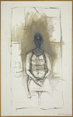 Alberto Giacometti 'Caroline', 1965 © The Estate of Alberto Giacometti (Fondation Giacometti, Paris and ADAGP, Paris), licensed in the UK by ACS and DACS, London 2015