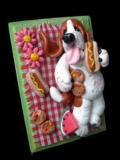 Basset cake! some one please get me this for my birthday!!!