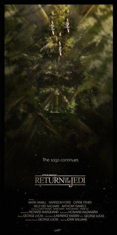 Star Wars trilogy poster | Designer: Andy Fairhurst