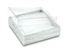 Jewelry Gift Boxes 6 White 3 x 218 x 1 Paper jewelry White