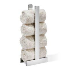 extra lang Schrank Handtuchstange f/ür die Wandmontage f/ür Badezimmer Schwarz Kleiderstangen Handtuchhalter K/üche