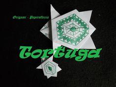 Origami - Papiroflexia. Tutorial: Tortuga, muy fácil y rápida