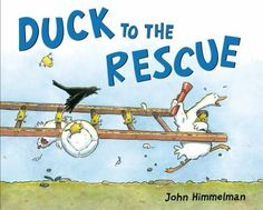 Duck to the Rescue by John Himmelman. Just like Chickens to the Rescue - Story structure & repetition help the littles build pattern recognition and phonemic awareness. Also, the pirate ducks are hilarious. Greta b / Sept 2014 Pre-school Books, Library Books, Clever Animals, Animal Habitats, County Library, Children's Picture Books, Children's Literature, Stories For Kids, Toddler Preschool
