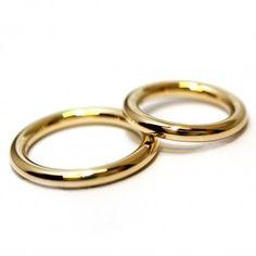 Obrączki ślubne, pełne o przekroju koła. Models, Gold Rings, Wedding Rings, Engagement Rings, Jewelry, Rings For Engagement, Jewlery, Jewels, Commitment Rings