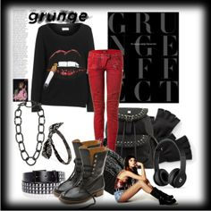 """""""Grunge"""" by cavell on Polyvore"""