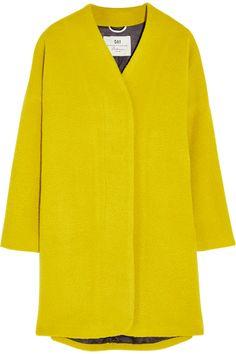 DAY Birger et Mikkelsen|Vivid oversized brushed-felt coat|NET-A-PORTER.COM